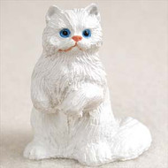 White Persian Figurine