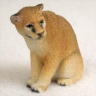 Cougar Bonsai Tree Figurine