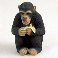 Chimpanzee Bonsai Tree Figurine