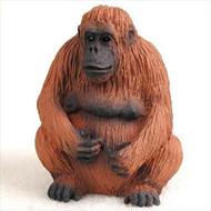 Orangutan Bonsai Tree Figurine