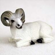 Dahl Sheep Bonsai Tree Figurine