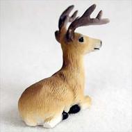 Deer Buck Bonsai Tree Figurine