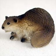 Beaver Bonsai Tree Figurine