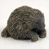 Porcupine Bonsai Tree Figurine