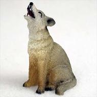 Coyote Bonsai Tree Figurine