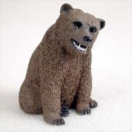 Bear Grizzly Bonsai Tree Figurine