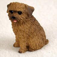 Norfolk Terrier Bonsai Tree Figurine