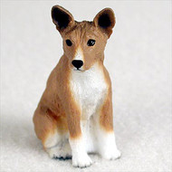 Basenji Bonsai Tree Figurine