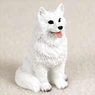 American Eskimo Bonsai Tree Figurine