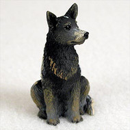 Australian Cattle BlueDog Bonsai Tree Figurine