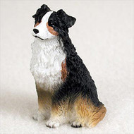 Australian Shepherd Tricolor Bonsai Tree Figurine
