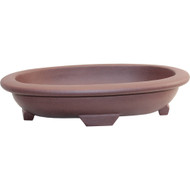 "12"" Oval Yixing Pot (YX246-2)"