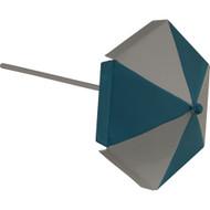 Fairy Garden Figurine - Blue Beach Umbrella (FGF-006)