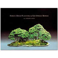 Forest, Rock Planting & Ezo Spruce Bonsai by Saburo Kato (BK77) bonsaioutlet