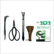 Tinyroots 4pc Tool Set with 101 Tips Book