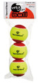 Tecnifibre Stage 3 Green Dot - 3 Ball Pack