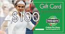 $100 Tennis Gift Card