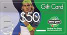 $50 Tennis Gift Card