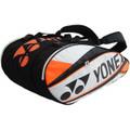 Yonex Pro Racquet Bag 9pk White/Orange