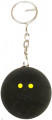 Head Squash Ball Key Ring