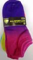 Sofsole No Show Dip Dye Socks 6pk