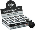 Dunlop Competition Squash Ball - 12 Balls