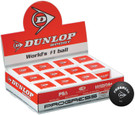 Dunlop Progress Squash Ball - 12 Balls