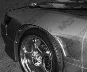 VIS Racing 25mm Front Fenders for Nissan Silvia S13