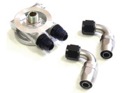 Mocal Oil Cooler Thermostatic Sandwich Plate Conversion Kit - VQ37