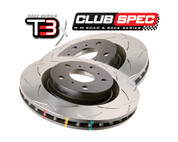 DBA 4000 Slotted Rear Rotor - Nissan 300zx