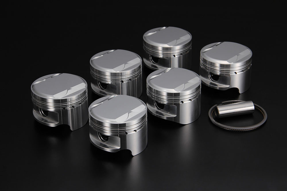 Tomei Forged Pistons With Valve Recession 86 5mm For