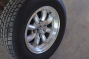 "Used Panasport Wheels 14x7"" & Tires (Set of 4)"