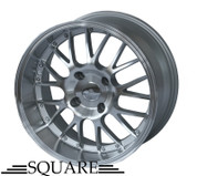 SQUARE Wheels G6 17x9 +15