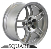 SQUARE Wheels G33 17x9 +15