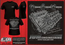2V-3V-4V ENGINE T-SHIRT