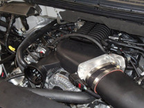 Whipple 6.2L F150/Raptor Complete Intercooled Supercharger Kit (Black)