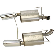 2011-2014 MUSTANG V6 SPORT MUFFLERS (49 STATE LEGAL)