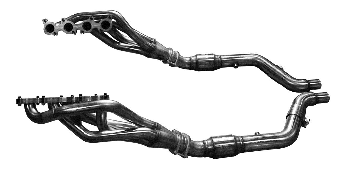 2015 Mustang GT Kooks 1-3/4 Long-Tube Headers with OEM