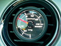WHIPPLE BOOST/VACUUM GAUGE 2-1/16""