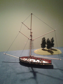 28mm Cutter - HMS LADY NELSON