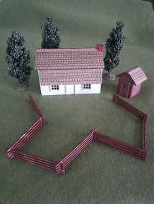 28mm Colonial Farmstead