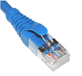 ICC PATCH CORD, CAT6A, FTP, 3FT, BLUE ICPCSG03BL