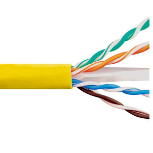 ICC CAT6e CMR PVC CABLE YELLOW ICCABR6EYL