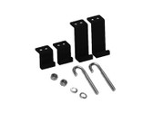 ICC RUNWAY KIT, 4 POST RELAY RACK BRACKET ICCMSL4PBK