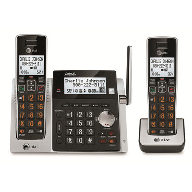 ATT 2 Handset Answering System with CID CL83213