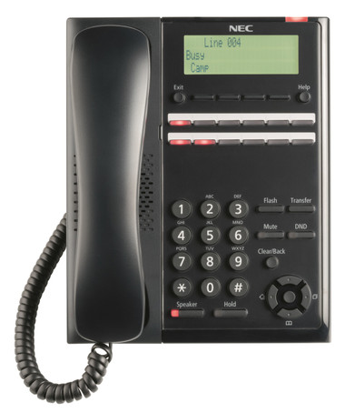 NEC SL1100/SL2100 SL2100 Digital 12-Button Telephone (BK) BE117451