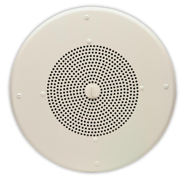 VALCOM 8in Round One Way Ceiling IP VIP-120A