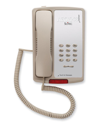 Scitec AEGIS-P-08ASH 80001 Aegis Single Line Phone