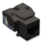 IC107E5CBK - 25 Pack Cat5 Jack - Black
