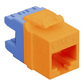 MODULE, CAT 5e, HD, ORANGE